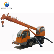 china-made 5 ton telescopic boom no used truck mounted crane for sale
