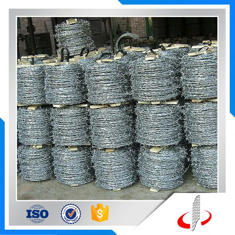 Hot Dipped Galvanized Electric Barbed Wire Mesh Manufacture