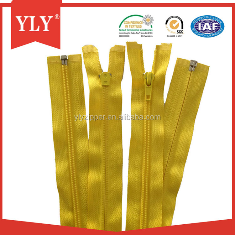 3# 60cm Two Way Open Nylon Lace Zippers Double Slider Zipper For Beach Bags/Tent/Backpacks