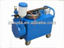 Cement slurry grout machine