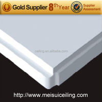 Compressed fiber cement mdf soundproof drop ceiling tiles