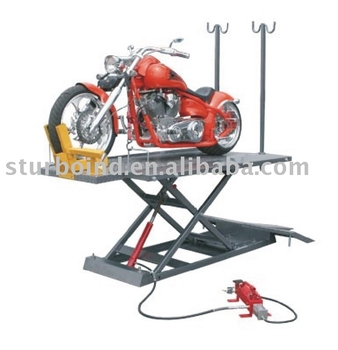 ATV lift, hydraulic, CE approved