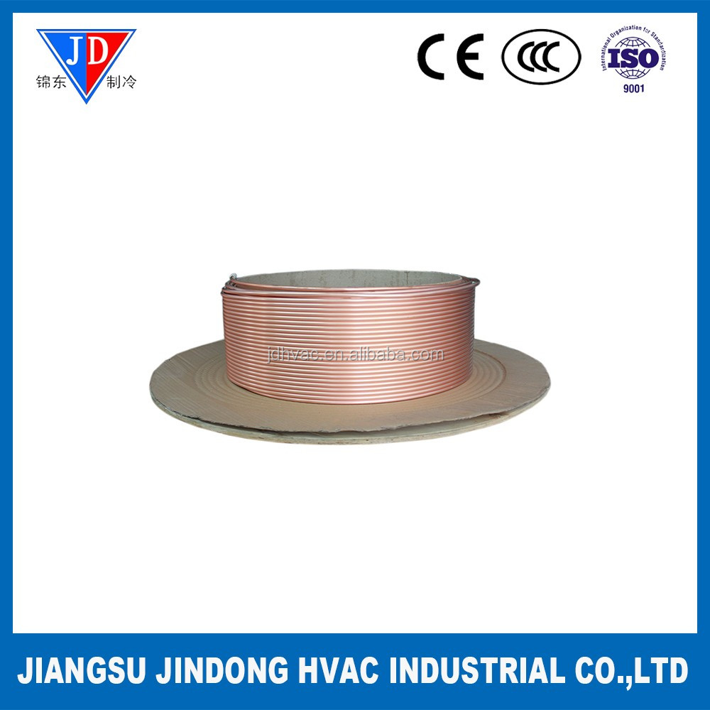 Air Condition Refrigeration Continuous casting and rolling copper coiling pipe