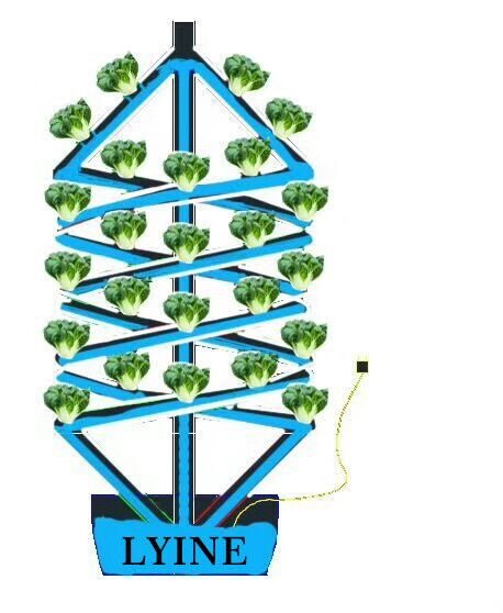 Economical modular lettuce farming greenhouse hydroponics system commercial agriculture