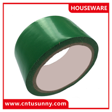 durable green color pvc wrapping tape for public marking