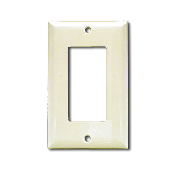 One gang wall plate