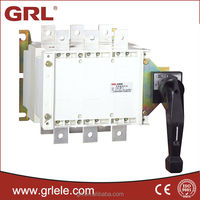 HGLZ1 630A 3P or 4P low voltage types of change over switch