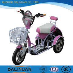 flatbed tricycle passenger motorcycle with back basket