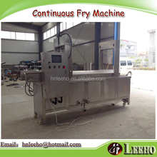 industrial field vacuum oil fileter chicken nugget continuous deep fry machine