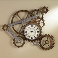 Custom high quality decorative gear, wall clock metal gear ISO manufacturer