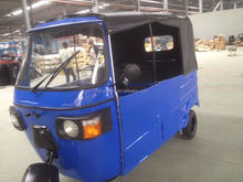 Electric/Gasoline Passenger Carriers India Bajaj