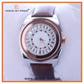 Assisi custom logo watch quartz leather diamond watches orologio