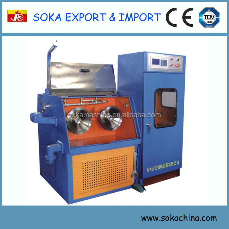 high speed soka brand new generation fine cable wire making equipment