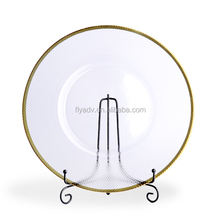 The Home Decoration 13-Inch Decorative Charger Plate for Cutlery Glassware