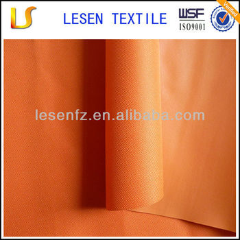 Shanghai Lesen textile pvc tent 600d coated polyester fabric