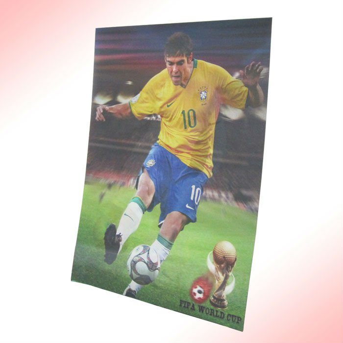 lenticular Picture 3D PP/PET football players