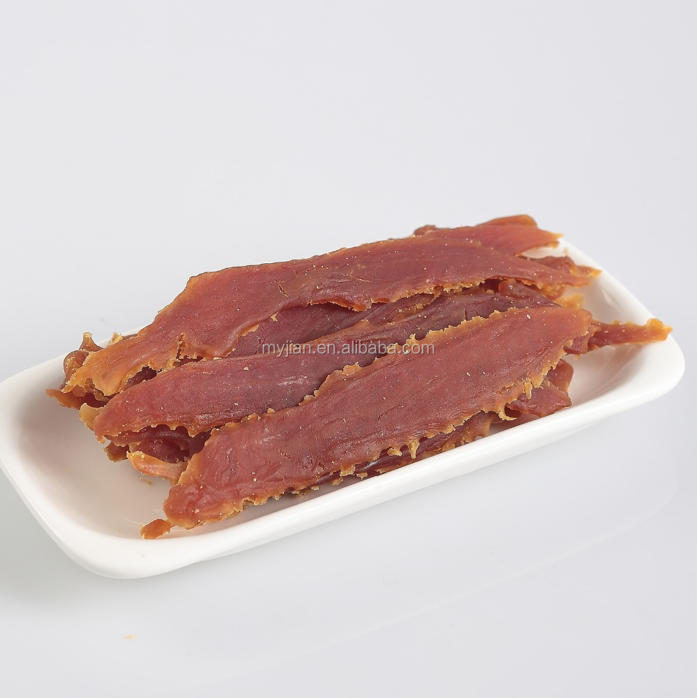 soft duck jerky dog treat natural duck meat dog snack whole duck fillets factory wholesale
