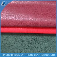 2015 Best sell pu leather,synthetic leather roll for shoes material from china supplier