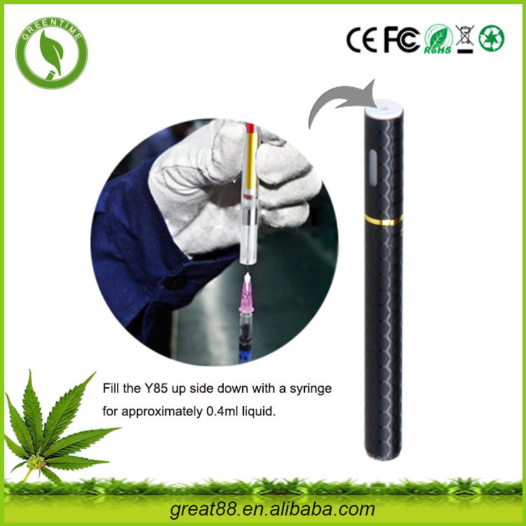 OCITYTIMES 300puffs cbd oil disposable ecig mini thc oil vapor pen filling by syringe