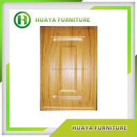 2015 new design cheap high quality pvc / lacquer kitchen cabinet door