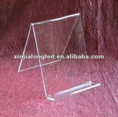 "82724 Tabletop Clear 6"" Acrylic Book Easel/Artwork Display Stand"