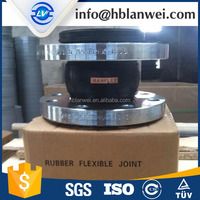 For construction of pipe systems Rubber joints flexible connectors Joints