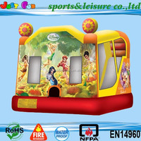 inflatable princess bouncy castle,cartoon inflatable combo,commercial bouncing castles for sale