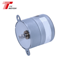 12 Volt small diameter low speed dc stepper motor GM35-35BY for electrical controlled valve