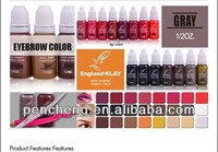 Cosmetic Tattoo Permanent Makeup Micro Tattoo Ink Pigment Color --England KIAY