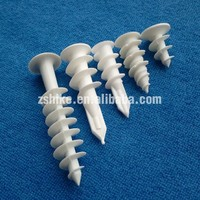 High-quality Plastic screw Plastic Anchor plastic hole plug From Zhongshan HIKE