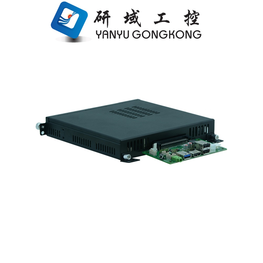 China manufacture OPS Digital Signage computer OPS+ J1900 processor PC aluminum alloy case For Digital Signage Machine