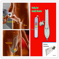 Physical therapy penis massage penis extender with bulb and cylinder EA-C13M