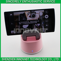 Rotatable Second Generation Self Robot Hands-free Portrait Phone Holder With Mobile Phone Bluetooth Remote Control