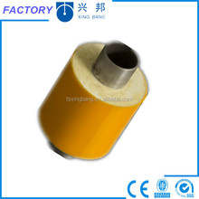 pu pre-insulated steel pipeline with pe jacket for heating hot water supply
