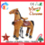 Elong plush mechanical ride kids animal ride toys riding horse toys Christmas  sale
