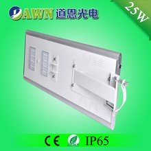 25W IP65 super bright integrated all in one solar led street light beads water wall outdoor mushroom lantern