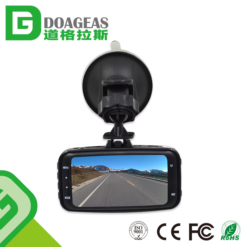 Supply User Manual Hd 720P Car Camera Dvr Video Recorder Manual Car Cam Hd Vehicle Dvr Dual Dashcam