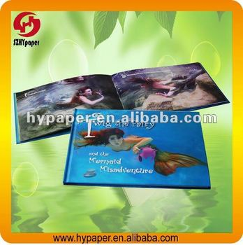 Mini hardcover book printing