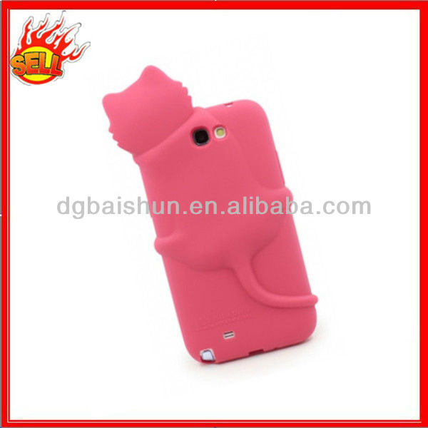 OEM design Silicone cellphone case for Samsung N7100