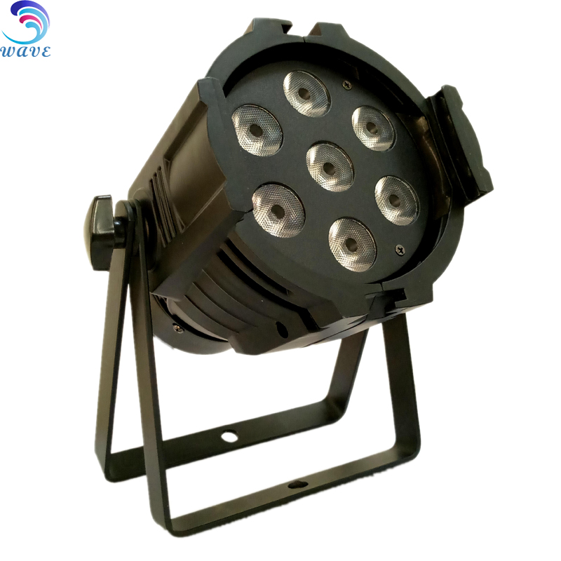 Dmx512 Disco Party Led Stage Lights For Sale 7pcs 18w 6 In 1 Par Light