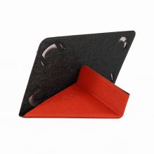 Book style 7-8 inch universal tablet leather case for ipad mini (Y-case)