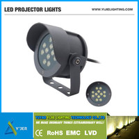 2014 new product YJX-0059 IP65 12W outdoor waterproof spot stand projector lamp led flood light wall lighting