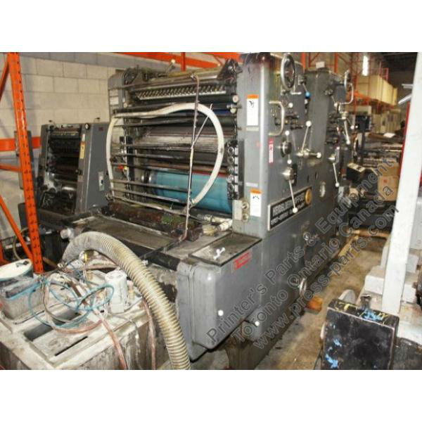 Heidelberg SORMZ 1976 Sheet Fed Printing Press