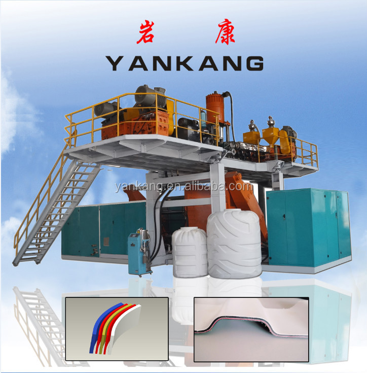 Plastic Extruder Machine//High output Road Barrier Blow Molding Machine