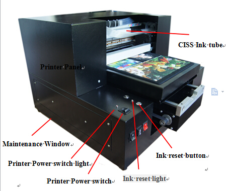 digital wall tile uv led printing machine for sale