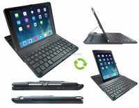 Plastic Bluetooth Keyboard With Rotating Hard Case For iPad Air 2 Bluetooth Keyboard For iPad With Rotating Plastic Back Case