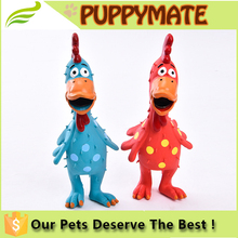 2016 new chicken called latex pet dog toy, funny BB call, bite dog Souptoys