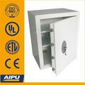 Home & Office safes T550-K/ Double wall / fire proof / Lazer cut door / Key lock / White beige/ EN14450 -S2.