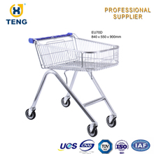High Quality Shopping Carts For Seniors Shopping Trolley Cart 60-240l Commercial Stroller