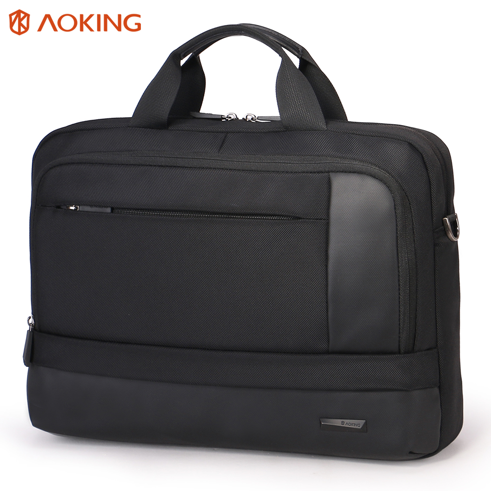 Aoking 2018 Functional Men shoulder messenger bag businessman laptop computer bag